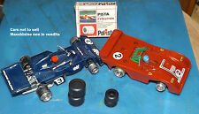 OLD POLICAR POLISTIL EVOLUTION 2+2 GOMME 1/32 SLOT CAR COD. A33 A39 RARE NEW MIB