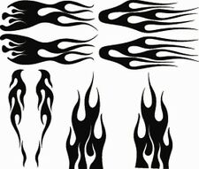 Rc airbrush stencils/ paint masks flame set 2(Single Use Only)
