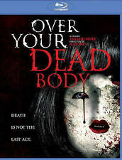 Over Your Dead Body (Blu-Ray, 2016) Sealed w/ slipcover and cut UPC.