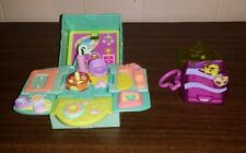 Littlest Pet Shop LPS Hasbro Lot of Teeniest tiniest Playsets and Pets