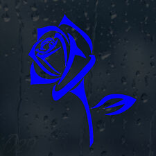 Lovely Blue Flower Rose Car Decal Vinyl Sticker For Window Panel Bumper