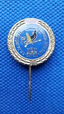 PIN -  BIRD PIGEON - PIGEONS CLUB NOVI SAD 30th YEARS - YUGOSLAVIA 1991 - RARE