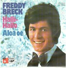 "3916-11  7"" Single: Freddy Breck - Halli-Hallo"