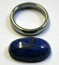 NATURAL LAPIS LAZULI LOOSE GEMSTONE 22X13MM GEM OVAL CABOCHON 17.7CT LA29