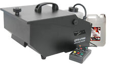 QTFX-LF900 LOW LEVEL FOGGER FOG SMOKE MACHINE DRY ICE EFFECT & 5L FOG FLUID