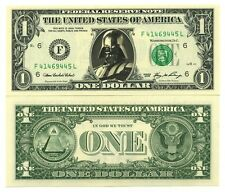 DARK VADOR - VRAI BILLET 1 DOLLAR US ! COLLECTION STAR WARS Collector