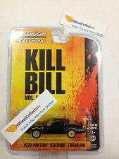 1979 Pontiac Firebird Trans Am * Kill Bill * Greenlight Hollywood 10 * W95
