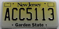 """Nummernschild USA aus New Jersey """"Garden State"""". 13216."""