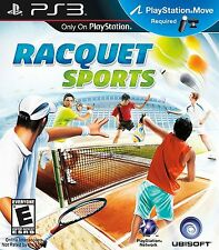 Racquet Sports PS3