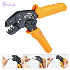 New Insulated Terminals Crimping Tool Plier Crimper 0.25-2.5mm2 AWG 24-14