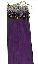 """50g 16""""18""""20""""100s Micro Ring Loop Remy Straight 100% Remy Human Hair Extensions"""