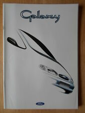 FORD GALAXY 1995 Spanish Mkt sales prestige brochure - Ghia GLX