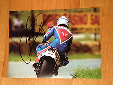 FREDDIE SPENCER HONDA NS500 1983 HAND SIGNED BIG PHOTO ROBERTS MAMOLA LAWSON