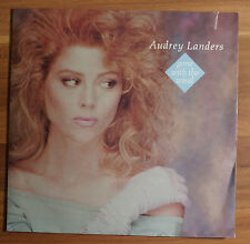 """Single 7"""" Vinyl Audrey Landers - Gone with the wind"""