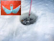 Ice fishing shanty anchor - Ice Angel - Tie down & hold your portable in place