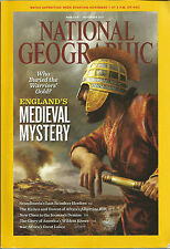 National Geographic November 2011 England's Medieval Mystery/Sami People/Rivers