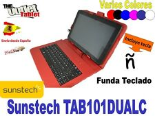 "FUNDA TECLADO TABLET SUNSTECH TAB101DUALC 10,1"" KEYBOARD MICRO-USB"