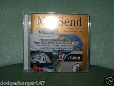 Magellan MapSend Streets and Destinations  Street Map CD-ROM