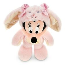 Disney Store Minnie Mouse Bunny Easter Rabbit Plush Toy Exclusive Pink 2014 New