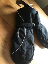 ROSSINOL LADIES SKI MITTENS BLACK BNWT SIZE MEDIUM GLOVES SNOW WINTER