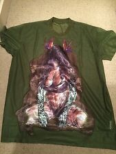 VERY RARE Givenchy SS12 She Devil - Birds Of Paradise Top - Size S - RRP £895