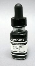 Marshall's Spot-All neutral black print retouching liquid.