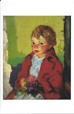 Postcard Robert Henri Village Girl Florida St Petersburg Museum Fine Arts MINT