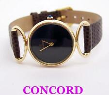 Solid 14K Yellow Gold CONCORD Ladies Quartz Watch 358227* EXLNT Cond* SERVICED