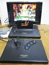 SNK NEO GEO NEOGEO AES Console System Tested Fully Working  Japan Import 224904