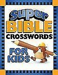 Barbour - Super Bible Crosswords For Kid (2009) - Used - Trade Paper (Paper