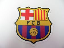 "FC Barcelona Logo 3"" Vinyl Decal Bumper Sticker - Football Soccer  Waterproof"
