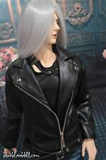 1/3 BJD 70cm Iplehouse EID hero Soom ID 72 male doll outfits PU leather jacket