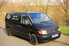 Mercedes Benz Vito 2.1 CDI DIESEL Manual Van - IDEAL EXPORT NO MOT STARTS DRIVES