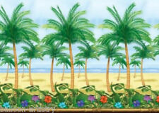 Tropical Paradise Scene Setter Room Roll ISLAND BEACH