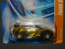 HW HOT WHEELS 2008 TRACK STARS #12 TRAK TUNE MITSUBISHI ECLIPSE HOTWHEELS YELLOW