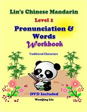 Traditional; Chinese Pronunciation with Related Words: Workbook w 1DVD; 5 and up