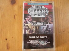 Metal Killers Kollection Volume II Black Sabbath Twisted Sister Waysted  MC