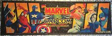"Marvel vs Capcom Arcade Marquee 26""x8"""