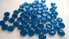 V746—144 pieces 10mm Czech Window Pane w/Beveled Edge Glass Beads—SWEET!