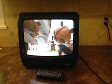 MAGNAVOX TV W/ BUILT IN DVD PLAYER COMBO CD130MW9  WITH REMOTE