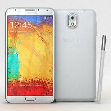 Samsung Galaxy Note 3 4G LTE N9005 32GB White 13MP Unlocked Android Smart Phone
