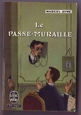 le passe muraille - marcel Aymé / livre de poche