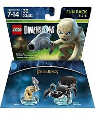 Lot of 24pk LEGO DIMENSIONS The Movie Fun Pack Gollum Lord of Rings Shelob 71218