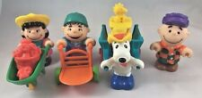 McDonalds Happy Meal Toys 1989 Peanuts Farm Charlie Brown Snoopy Lucy Linus P9