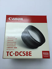 Canon TC-DC58E 1.4X Tele-Converter Lens for PowerShot G15 G16 Digital Camera