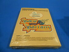 SPace SPartans Intellivision INTV Game New Sealed Shrinkwrapped!Mattel