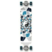 Yinyang Graphic Drop Down Complete Longboard Professional Speed skateboard