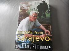 ESCAPE FROM SARAJEVO CHRISTOBEL MATTINGLEY PUFFIN BOOK ISBN 0-14-037525-2