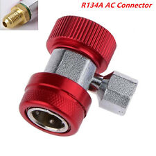 R134A AC Quick Car Air Conditioning Coupler Adapter High Pressure Connector New