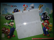 New Nintendo 3DS Super Mario White Edition Game System Console |BRAND NEW SEALED